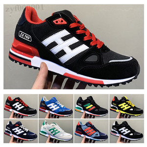Originals ZX750 New Wholesale EDITEX Originals ZX750 Sneakers blue black grey zx 750 for Mens and Womens Athletic Breathable casual Shoes Size 36-45 SX06