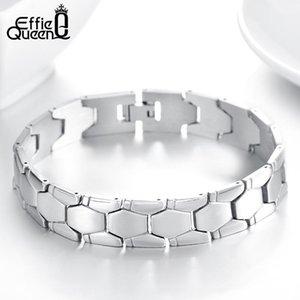 Effie Queen Brand Muñequera Diseño de pulseras de acero inoxidable para hombres Joyas de regalo de moda masculina FB771