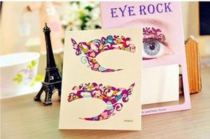 50 pares de sombra de ojos etiqueta etiqueta doble párpado maquillaje herramientas cosméticos envío gratis