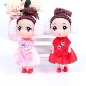 12 см зима новый шарф путаница куклы привет Мэн барби брелок детский новогодний день подарок для ребенка взрослый