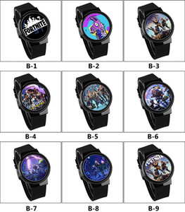 NEW hot-selling Fort Night Watch Fortnite Competitive shooter Luminous Touch LED creative Electronic Cartoon watches student watch