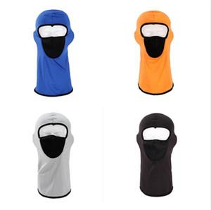 200PCS Unisex Full Face Mask CS Camouflage Pullover Beanie Face Shield Warm Beanie Breathable Mesh Hat Snow Ski Masks Ear Muff Cap CZ120104