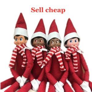 10 Christmas Elves Christmas Ornaments Long-legged Dolls Nordic Style Cute Men and Women Sitting Doll Christmas Ornaments02