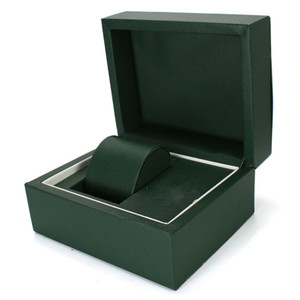 Newest Green Watch Original Wood Box Papers Card Luxury Handbag For 116610 116660 228238 326938 116520 116710 116613 Watches