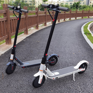 [EU NO TAX] Foldable Smart Scooter Skateboard 45-50km Strong Range 36v 12.5ah HT-T4 Max 10 inch HT-T4 Electric Scooter 8.5 inch