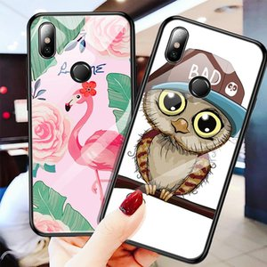 Tempered Glass Phone Case For Xiaomi Mi 8 Mi A2 Lite A1 9 9t Redmi 6 Pro 7 5 Plus Note 6 sqceYK