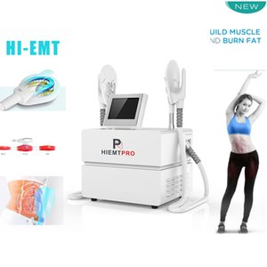 Taşınabilir Emsculpt Neo Makinesi HIEMT Emslim Elektromanyetik Muscle Simülatörü EMS Teslasculpt Yok Ağrı EMS Te Emsculpt Sliming Cihazı