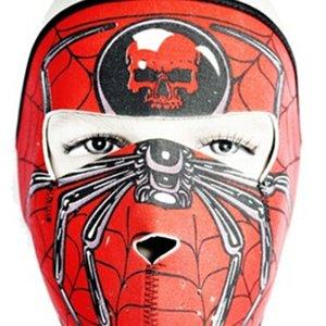Asesino Adulto Ajustable Balaclava Neopreno Ghost 2 Skull en 1 Reversible Encienda Face Mask Motorcycle Snowboard Ski