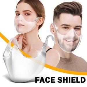 PC Transparent Protective Mask Face Shield Clear Masks Radical Alternative Transparent Shield OWC4006