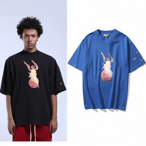 High Street Jesus Is King Letter Print Kanye Tshirts Men and Women Short Sleeve Cotton Casual T Shirt Oversize Tutrleneck Tees #dw2c