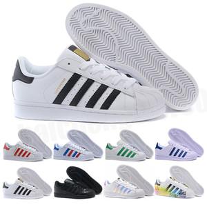 superstar smith allstarNouveau Superstar Original Blanc Hologramme Iridescent Junior Or Superstars Baskets Originals Super Star Femmes Hommes Sport Casual chaussures 36-45