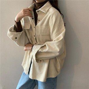 EORUTCIZ 2020 Autumn Fashion Velevt Blouse Women Vintage Oversize Warm Shirt Winter Long Sleeve Casual Basic Tops LM1071