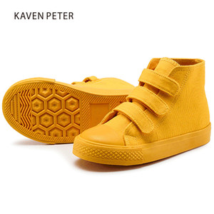 Kids Canvas Shoes casual shoes for for girls boys flat White sneakers children size 25-38 purple blue yellow green orange Z1127