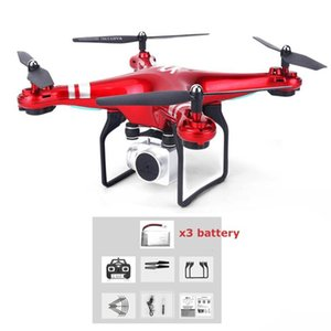 SH5HD FPV Drone with 1080P WIFI Camera Drone Live Video Altitude 2.4GHz 4 Channels 6 Axis Gyro RC Helicopter with 2 3 Batteries