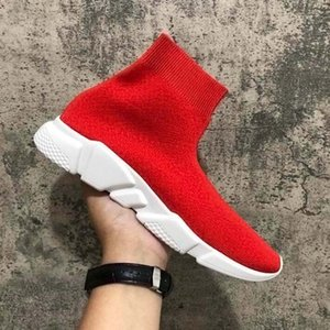 fashioninshoes Speed Trainer Sock Sneakers Boots women red bottoms Speed Runner Outdoors Casual Flats designer shoes kanye luxury vintageQX2