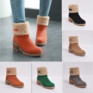 Gold Catalpa - Bottes Femmes Chaussures d'hiver Chaussures de neige Chaussures de neige Chaussures Slip-On 201124