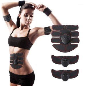 Abdominal Muscle Trainer Training Apparatus EMS Muscle Stimulator Belt Fitness Massager Body Slimming Shaper Machine Fat1