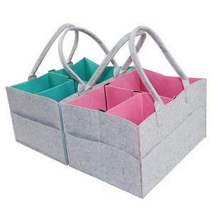 Travel Felt Cosmetic Bag Storage Bag Travel Mummy Diaper Storage
