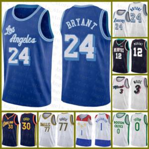 2020 2021 Новый Баскетбол Джерси Лос-АнджелесЛейкерсДоверие24.Брайант Леброн 23 Джеймс Девин 1 Букер Винс 15 Картер 2 Леонард