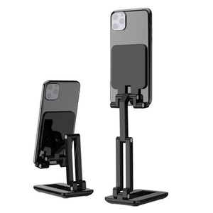 Desktop Tablet Holder Table Cell Foldable Extend Support Desk Mobile Phone Holder Stand For Cell Phone Pad Adjustable