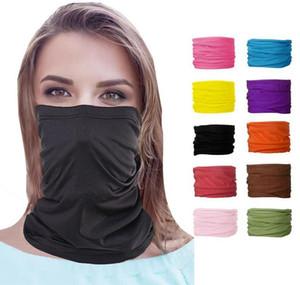 25 Colors Fashion Bandana Face Mask Outdoor Sports Headband Turban Wristband Headscarf Neck Gaiter Magic Scarve wmtjuA dayupshop