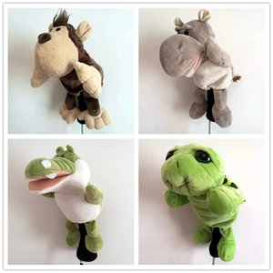 New A Lot Of Animal Golf Head Covers NO.1 Driver Headcover High Quality Funny Dustproof #1 Wood Golf Covers 201124