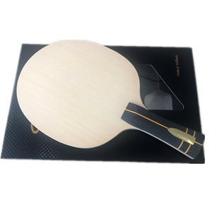 Stuor Nobilis ZLC Carbon Hinoki Настольный теннисный лезвие Hinoki Wood Ping Pong Racket 7 слоев с встроенным волоконным углеродным лезвием Z1118