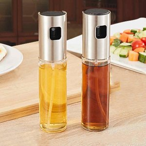 Fashion BBQ Olive Oil Spray Bottle Oil Vinegar Spray Bottles Water Pump Gravy Boats Grill BBQ Sprayer BBQ Kitchen Tools Salad