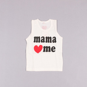 Clearance sale Infant Sleeveless T Shirt Toddler Clothing Fashion Printed Casual Vests Baby Summer White Tank Tops Z207