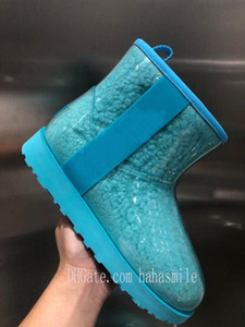 2021 Classic wool fur australia wgg women platform womens boot girls lady bailey bow winter snow Half Knee cotton Short boots australi B1Ta#
