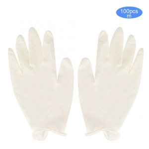 50 Pair Rough Rubber for Work Comfortable Elastic Inspection Gloves Protection Tool GXO6