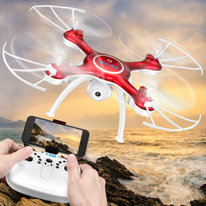 Camera Drone 2.4G RC Helicopter APP Control Quadcopter Helicopter flying for Aerial Photography Four-Axis Aircraft Children Toys