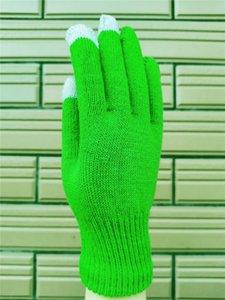 2020 Unisex Winter Warm Touch Screen Screen Screen Guanti Donne Uomini Adulti Addinsent Addens Ader Outdoor Telefono Guanti a maglia Golfs Telefining Glove F120703