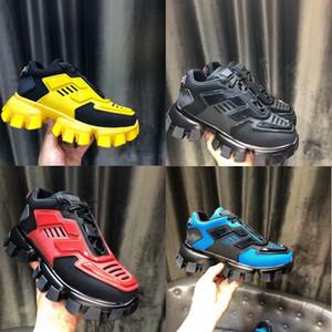 Novos Produtos Listados Homens Mulheres Low Top Sapatos Casuais Lace Up Moda Designer Sapatos Cápsula Series Cor Correspondente Plataforma Sneakers com caixa