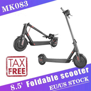 Cwmsports TAX PAID! MK083 EU US Stock Folding Electric Scooter 8.5inch Bicycle Scooter 3-5 Days Delivery In Stock 7.8Ah 250W Commute