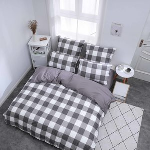 Alanna X series 3-4 Printed Solid bedding sets Home Bedding Set 4-7pcs High Quality Lovely Pattern with Star tree flower Z1126