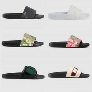 С коробкой Высококачественные тапочки Сандалии Слайды Повседневная Обувь Тапочки Сандалии Обувь Huaraches Flip Plops Легинские Шарфы Размер: 35-45 023