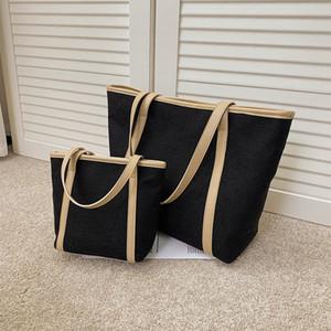 Large-capacity womens handbags 2020 new simple canvas bag shoulder bag women fashion bags tote bag