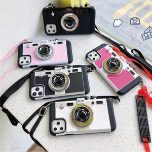 Spezielle Telefonkoffer für iPhone11 Pro Max XS XR x Kamera-Stil-Schutzhülle mit der Schlinge für iPhone7 8plus 6s