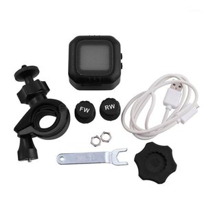 Waterproof Wireless High Precision Motorcycle TPMS Tire Pressure Monitoring System Motor Tyre Auto Alarm1