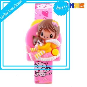 Time Beauté Nouvelle mode non imperméable Mignonne Barbie Electronic Goys and Girls Watch 1240
