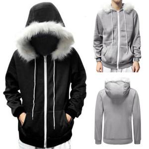 Men Women Cosplay Blue Fleece Hooded Jacket Hoody Costume Warm Sport Coat Women Patchwork Hoodies Hip Hop Streetwear Hooded