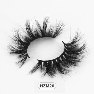 Wholesale 3d Wispies Mink Eyelashes Fluffy Eyelashes Natural