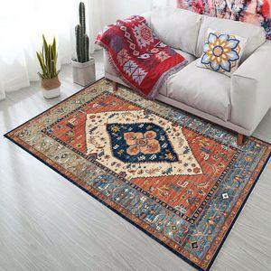 Bohemia Home Anti-slip Rectangular Carpet Living Room Outdoors National Washable Rugs Decoration Modern Bedroom Parlor Mats