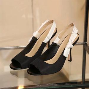 Dior Sandálias Femininas High Heel Designers Crie Sandálias Casuais de Alta Qualidade Casual Beach disponíveis em uma variedade de cores A42Z