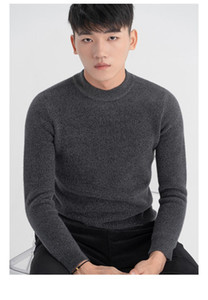 BK11145 Fashion Men's Sweaters 2020 Runway European Design party style Men's Clothing