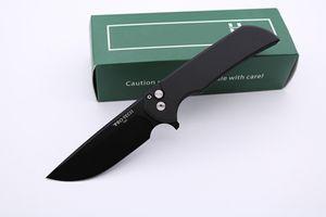 Cuchillos de alta calidad Protech Mordax Cuchillo plegable de bolsillo D2 Hoja 6061-T6 Manejar Fruta Cuchillo de cocina Cuchillo de supervivencia táctico