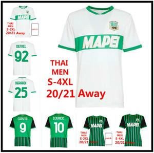 4XL 20/21 Sassuolo Calcio Soccer Jerseys 2021 Sassuolo Home Lirola Prince Soccer Hemd Matri Sernicola weg Fußball Uniform