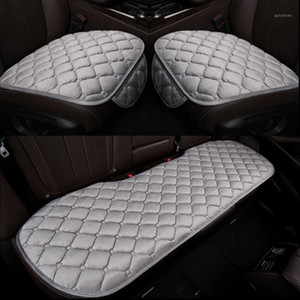 Warm Car Seat Covers Cushion Automobiles Plush Universal Auto Interior Accessories Car Seat Protect Set Chair Mat Car-styling1