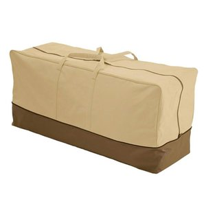 Furniture Cover Anti Dust Garden Cushion Patio Large Capacity Storage Bag Waterproof Protective Oxford Cloth Home Accessories